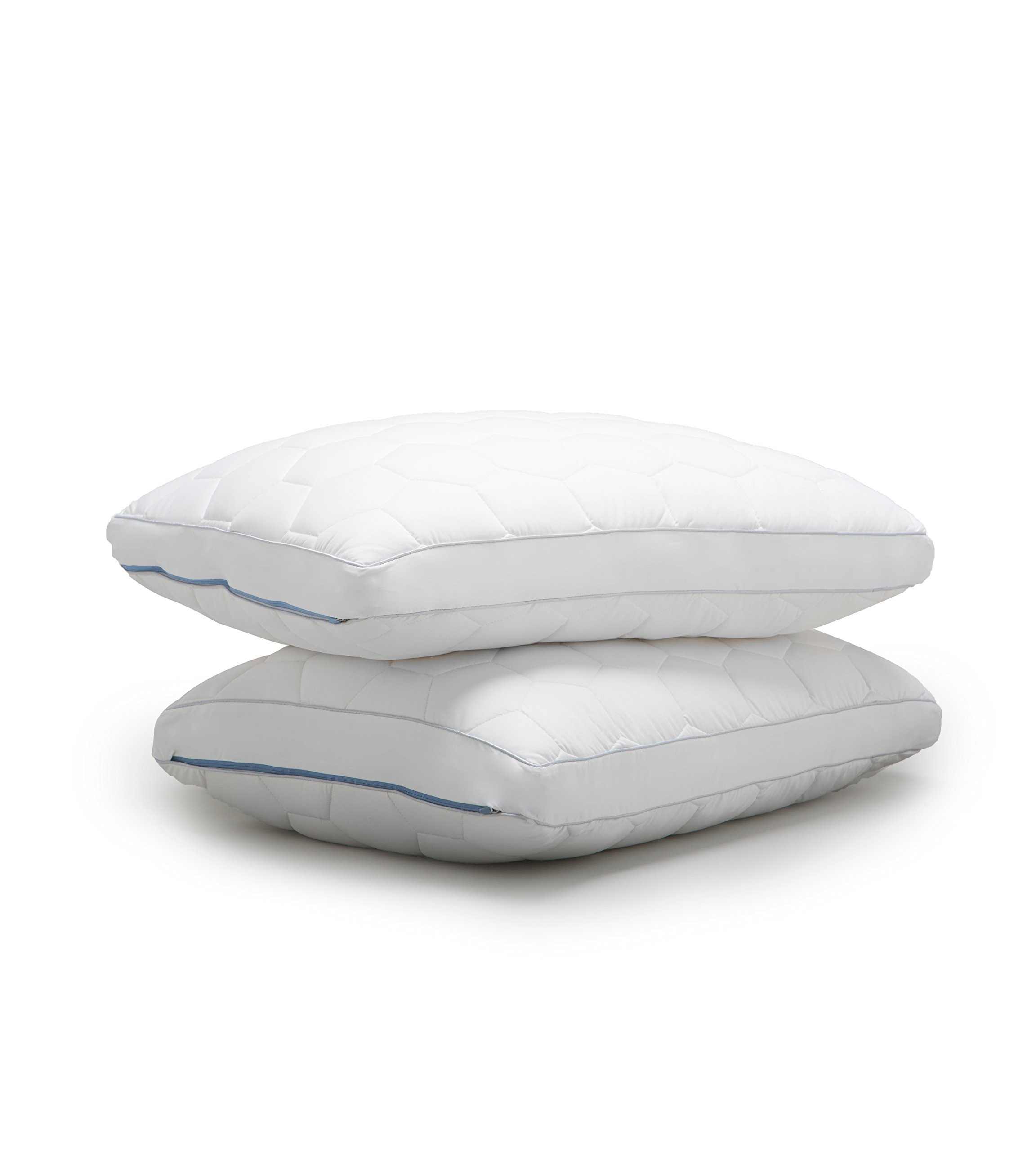 SHEEX ORIGINAL PERFORMANCE Down Alternative Side Sleeper Pillow, All of the Softness of Down Pillows with None of the Allergies (Standard/Queen)