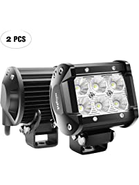 Amazon light bars accent off road lighting automotive nilight led light bar aloadofball Image collections