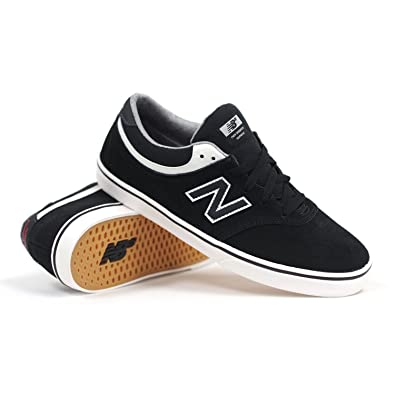 | New Balance Quincy 254 Skate Shoes Black Suede