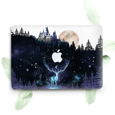 huge discount 1afba fb7f3 ZVStore Protective Plastic Hard Case Cover for Macbook (Pro 13 inch 2016  (A1706 & A1708), Harry Potter)