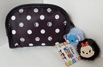 b84735d80ea5 Amazon.com   London Soho New York Disney Tsum Tsum Cosmetic Bag - Small  Black   Beauty