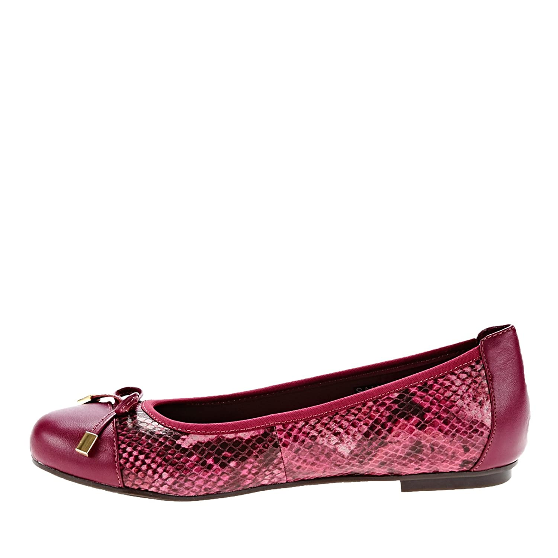 Vionic Women's Spark Minna Ballet Flat B00YNN43OE 6 W US|Raspberry Snake
