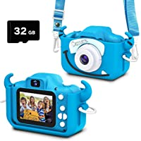 Goopow Kids Camera Toys for 3-8 Years Old Boys and Girl, Kids Digital Video Camera for Children with Shockproof Soft…