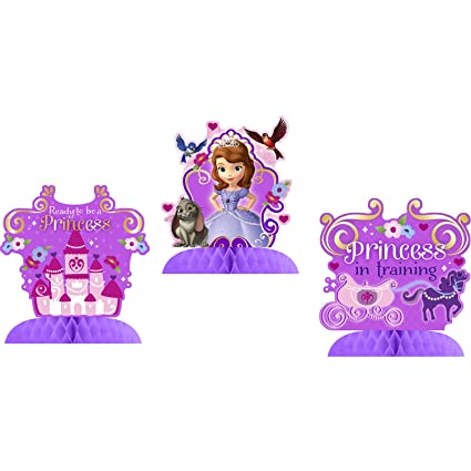 Hallmark Disney Junior Sofia the First Tabletop Decorations