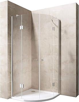 80 x 80 x 190 cm Luxus – Mampara de ducha ravenna02 K, 8 mm de cristal
