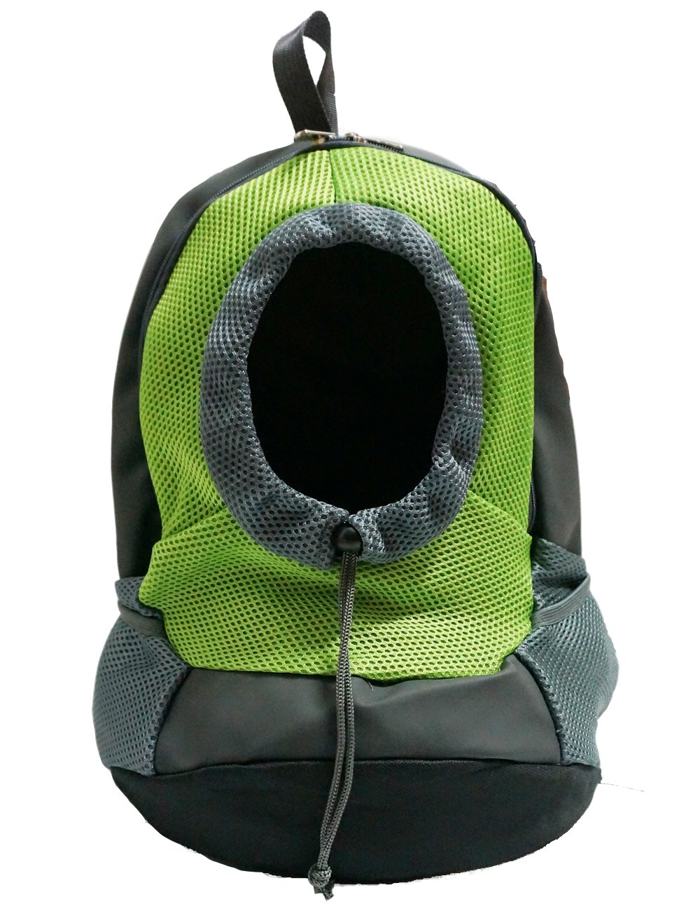 Pet Carrier Portable Outdoor Travel Backpack for Small Dog or Cat Use (Green) | Size: 16.53''(Length) x 11.41''(Bottom Length) x 6.69'' (Side Width) (suitable for pet under 3.5kgs = 7.7lbs)