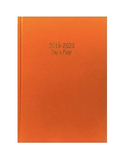 Agenda escolar 2018-2019 de Precious Londos, tamaño A5, desde mediados de año; día por página (idioma español no garantizado), color naranja