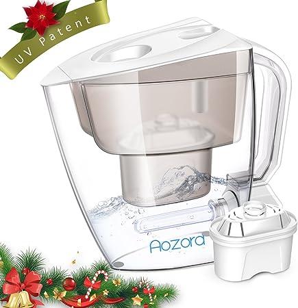 Filtro de agua pitcher- Aozora purificador de agua jarra con ...