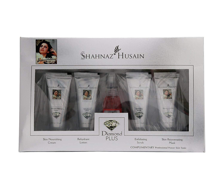 Shahnaz Husain Diamond Are Forever Herbal Ayurvedic Skin Revival Kit Latest International Packaging (1.4 oz / 40 g)