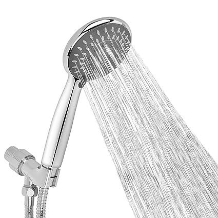 Aoche 5 Function Luxury Handheld Shower Head With Hose And Bracket Holder,  Massage, Rainfall