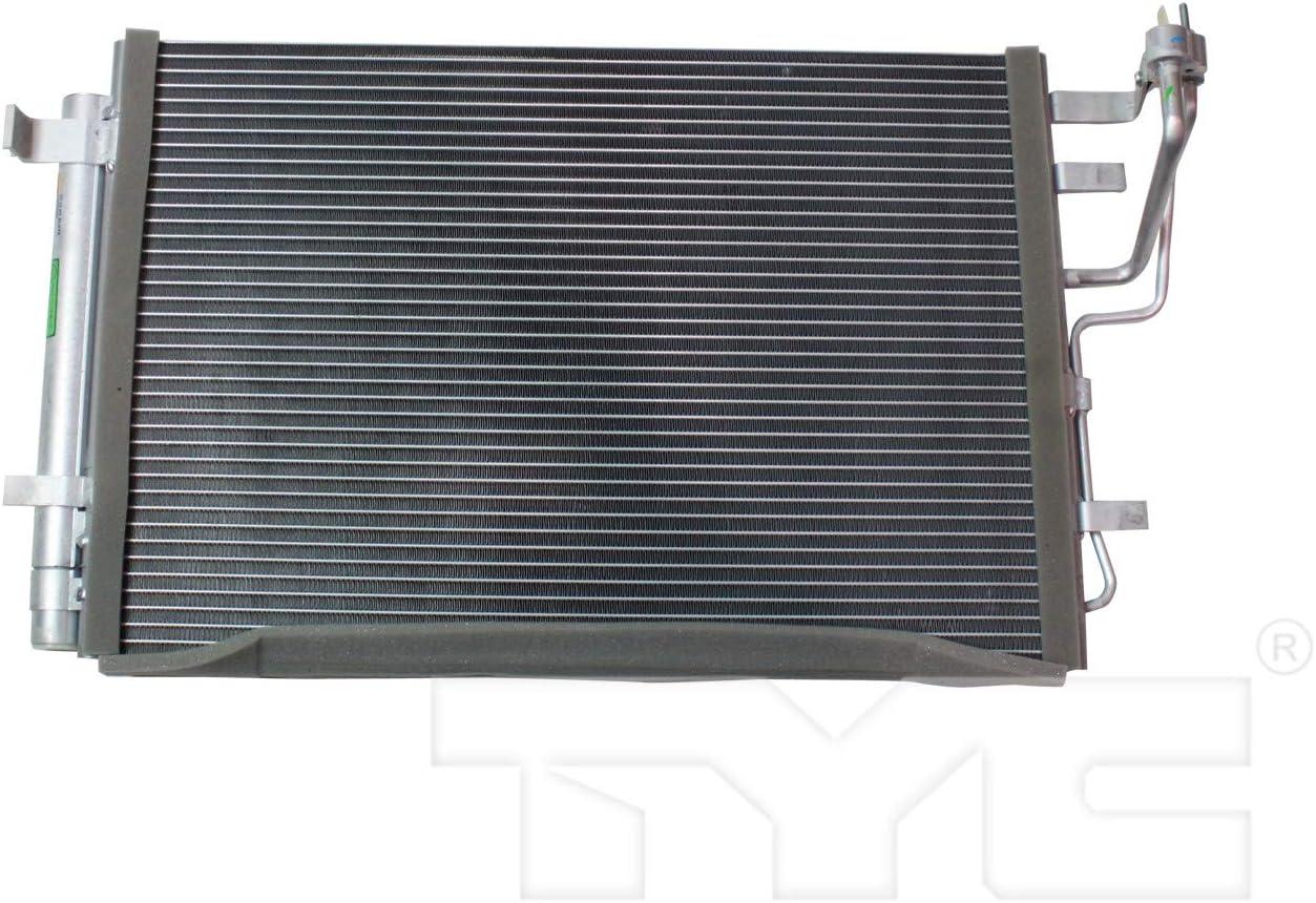 A//C Condenser Compatible With Hyundai Elantra 2007 2008 2009 2010 2011 2012