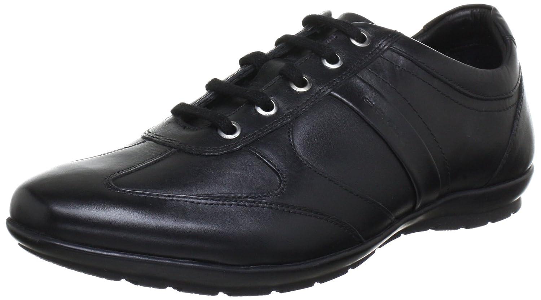Amazon.com | Geox Men's Msymbol8 Fashion Sneaker, Black, 46 EU/12.5 M US |  Fashion Sneakers