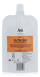 On the Spot Moisturizer by Au Natural Skinfood | Hydrating, Redness Reducing, Pore Tightening Acne Treatment Moisturizer in Plant-based Pouch | Naturally Target Problem Skin | 50 ml