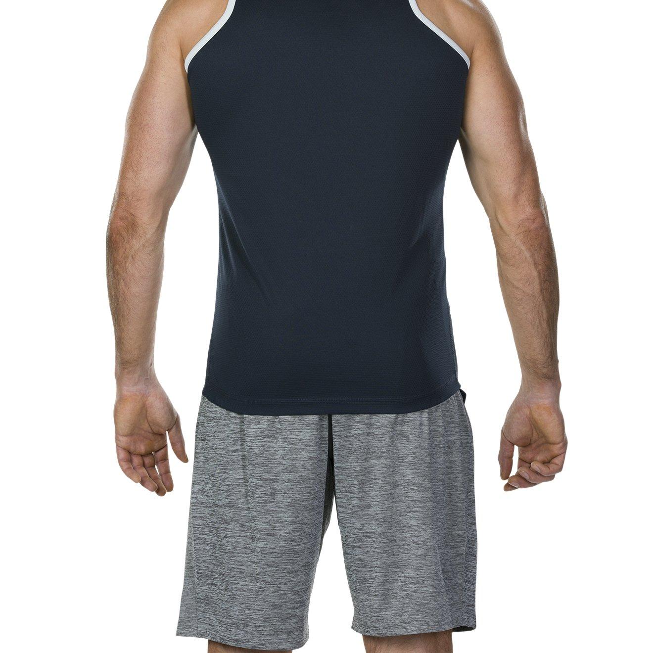 Hombre Canterbury Vapodri Poly Singlet Camiseta sin Mangas