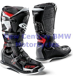 BMW Genuine Motorcycle Unisex GS Pro Riding Boot Black White Red US 11.5  Euro c1b697caa