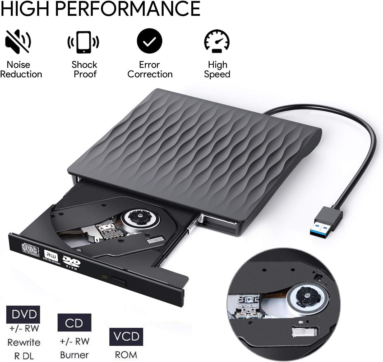 USB 2.0 External CD//DVD Drive for Compaq presario v3113tu
