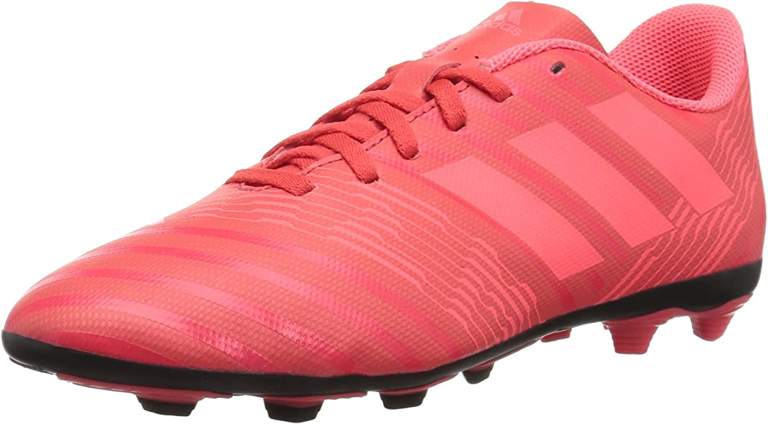 reputable site 03ae9 9f316 adidas Girls  Nemeziz 17.4 Fxg J, Real Coral Red Zest Core Black