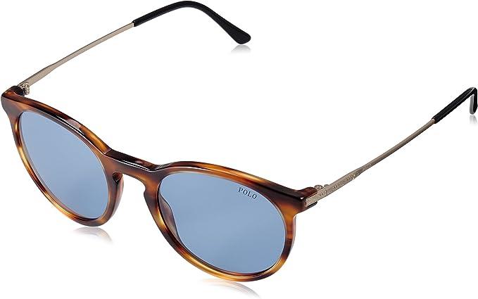 Ralph Lauren POLO 0PH4096 Gafas de sol, Stripped Havana, 50 para ...