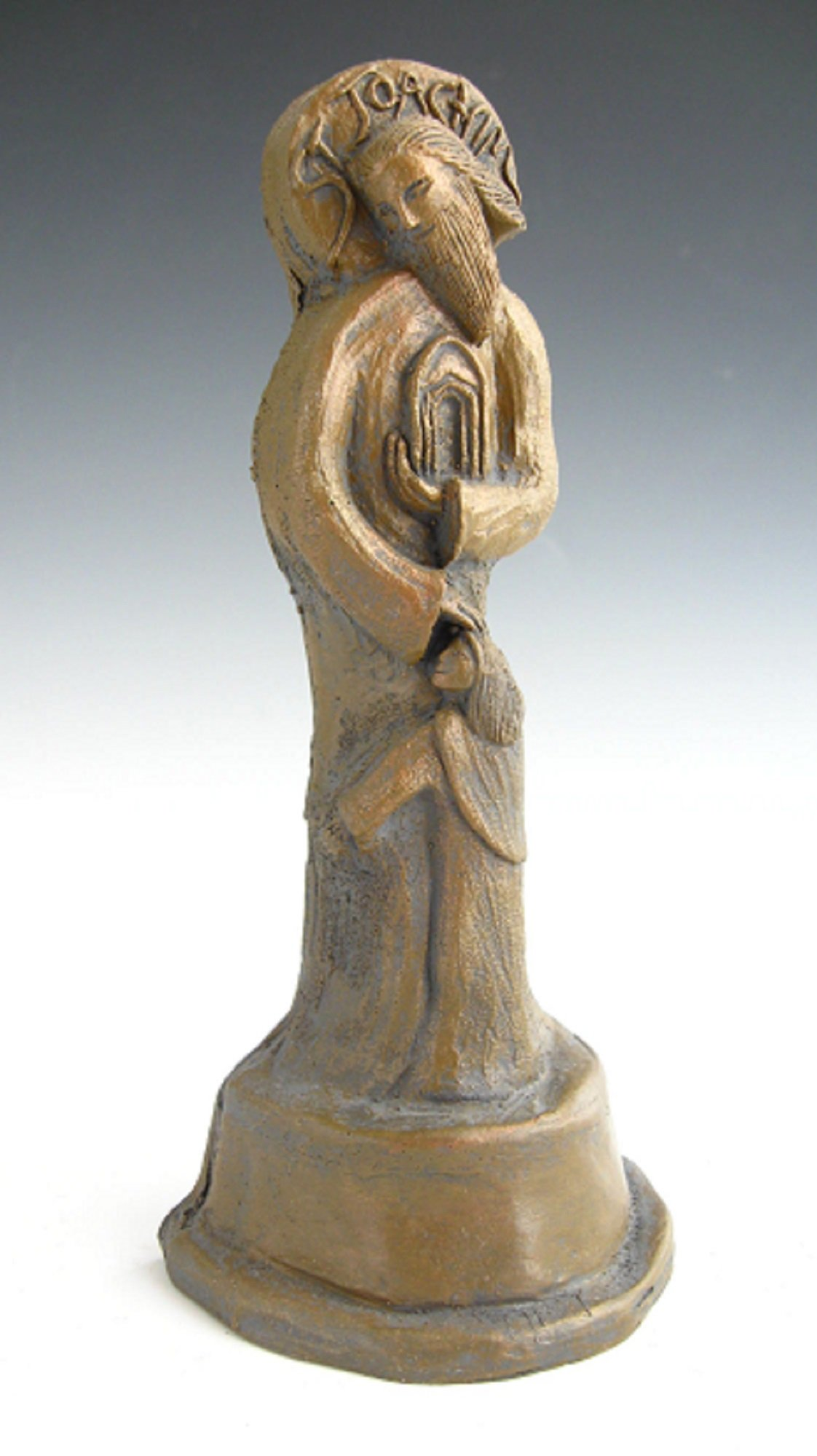 St. Joachim, Patron of Grandfathers, Handmade Statue (Small Size)