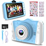WOWGO Kids Digital Camera - 12MP Children's Camera with Large Screen for Boys and Girls, 1080P Rechargeable Electronic…