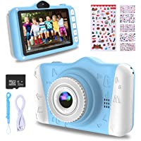 WOWGO Kids Digital Camera - 12MP Children's Camera with Large Screen for Boys and Girls,…