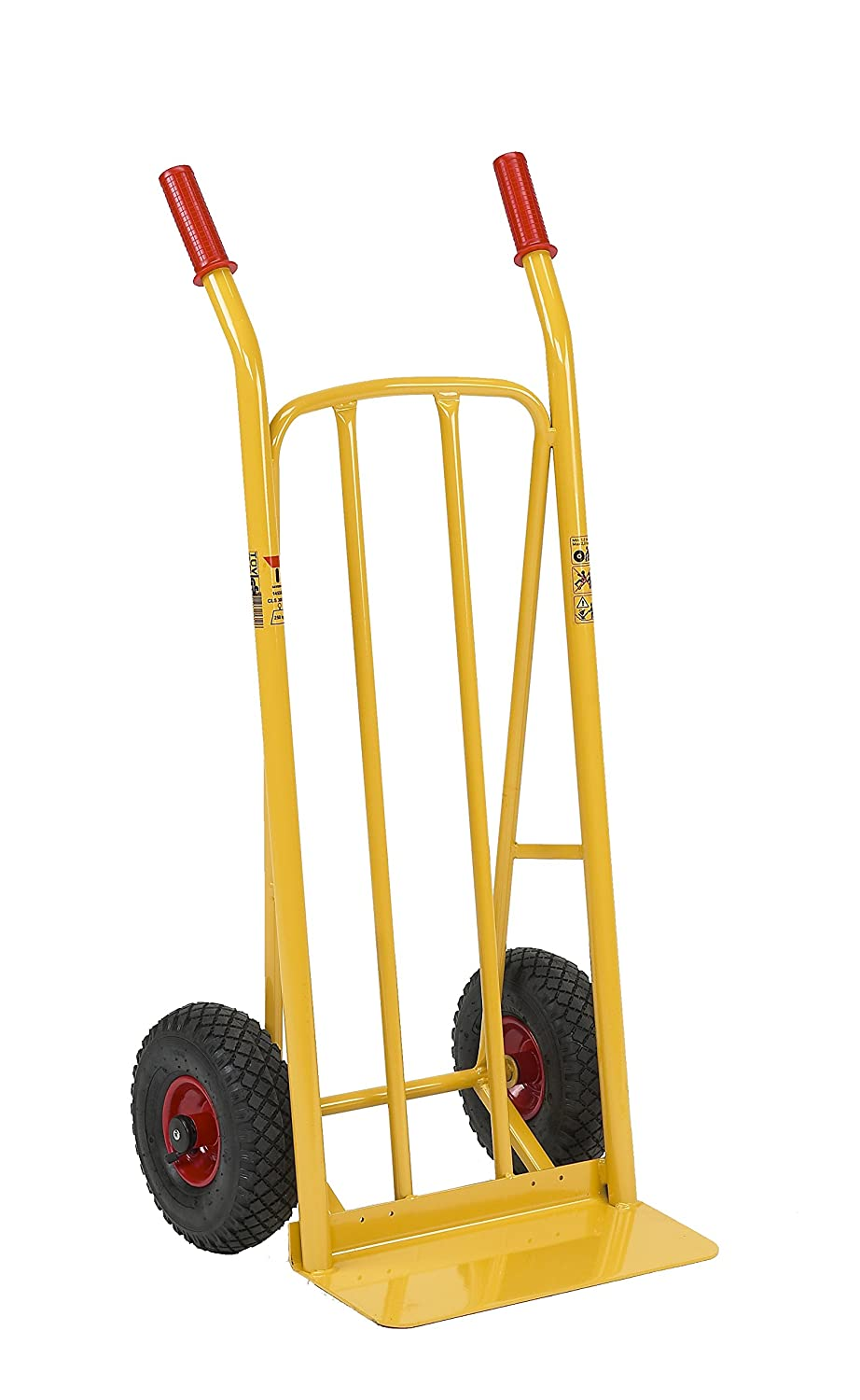 Ravendo HHS143 High Capacity Steel Sack Truck - Yellow