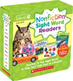 Nonfiction Sight Word Readers Parent Pack Level C: Teaches 25 key Sight Words to Help Your Child Soar as a Reader!