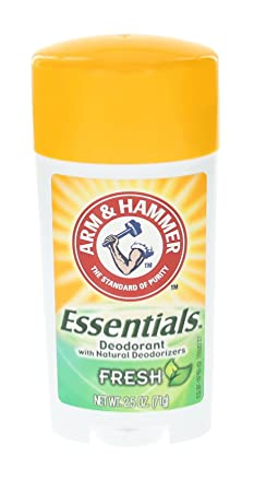 ARM HAMMER Essentials Natural Deodorant Fresh 2.50 oz Pack of 12