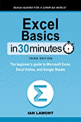 Excel Basics In 30 Minutes Kindle Edition
