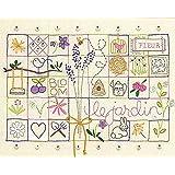 Dimensions Crafts 71-01545 Le Jardin Sampler Embroidery Kit