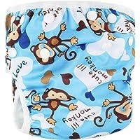 ZF2207502 Bebé Lavable Unisex pañales de Piscina Ajustables