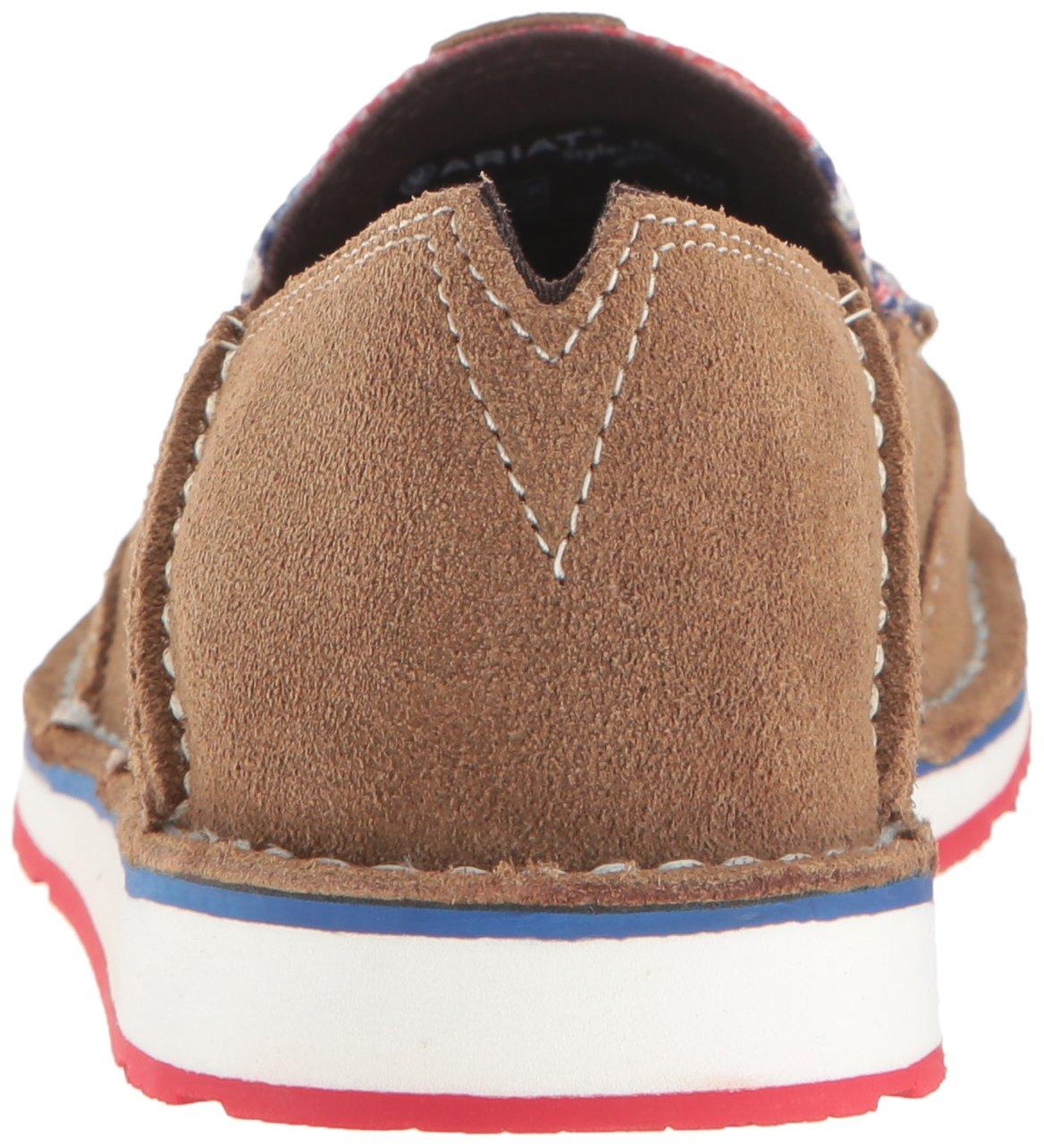 Ariat Women's Cruiser Slip-on Shoe B01MRBJ25I 5.5 B(M) US|Dirty Tan Suede