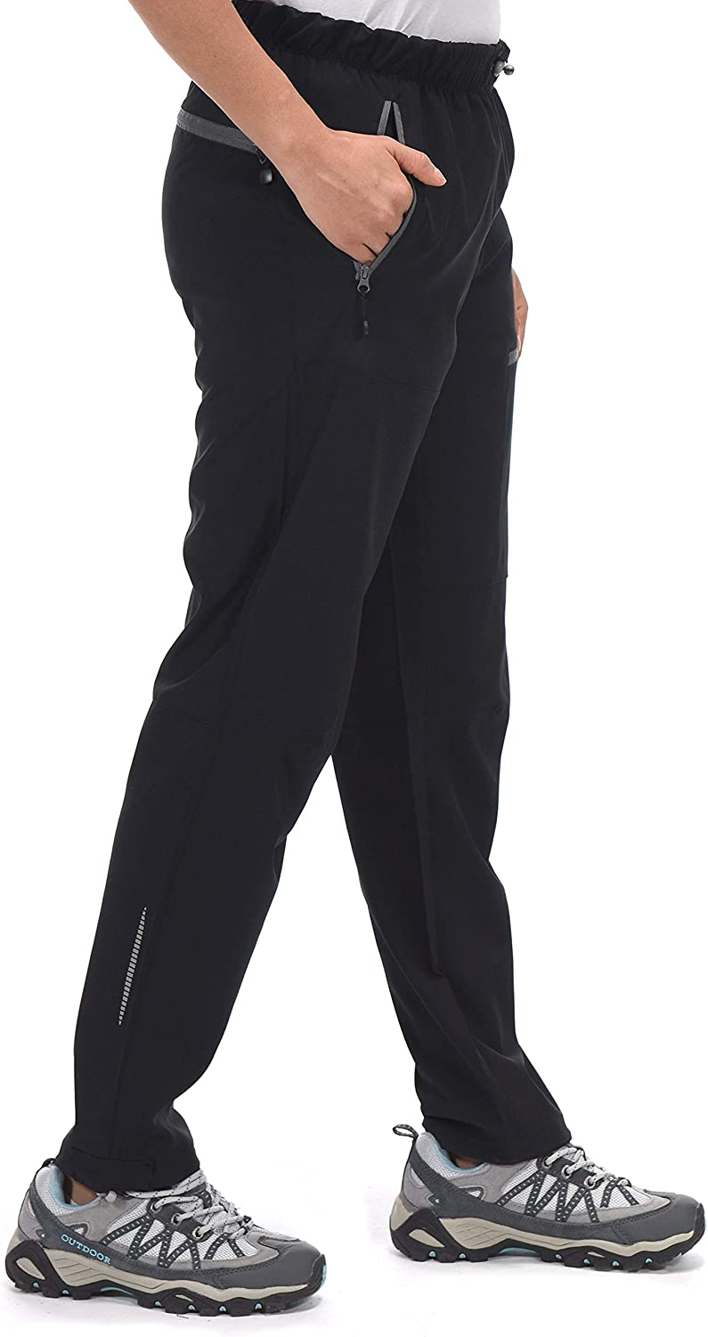 Stretch Travel Pants Little Donkey Andy Womens Lightweight Quick Dry Cargo Hiking Pants UPF 50