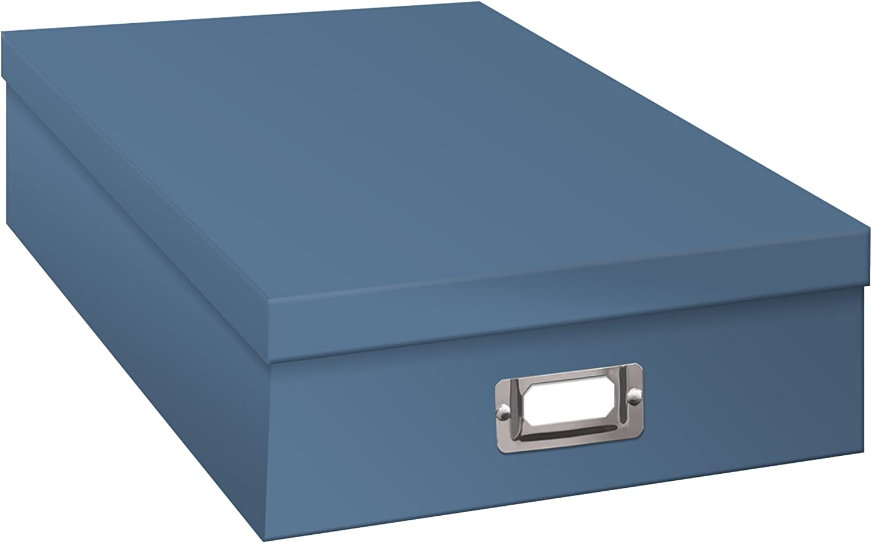 Pioneer Jumbo Scrapbook Storage Box, Sky Blue
