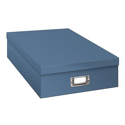 Amazoncom Pioneer Jumbo Scrapbook Storage Box Sky Blue Arts