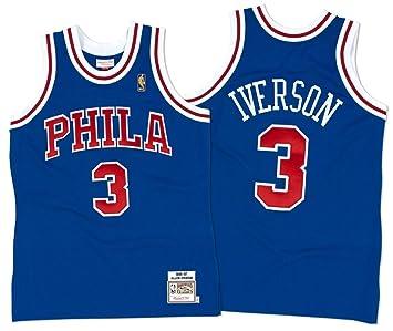 Mitchell & Ness Camiseta de la NBA, de los Philadelphia 76ers, nú