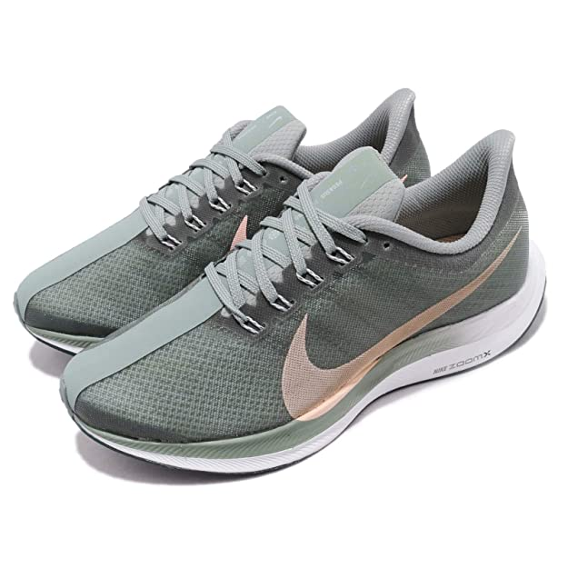 Amazon.com | NIKE Zoom Pegasus 35 Turbo Mica Green Womens AJ4115-300 US Women Size 6 | Road Running