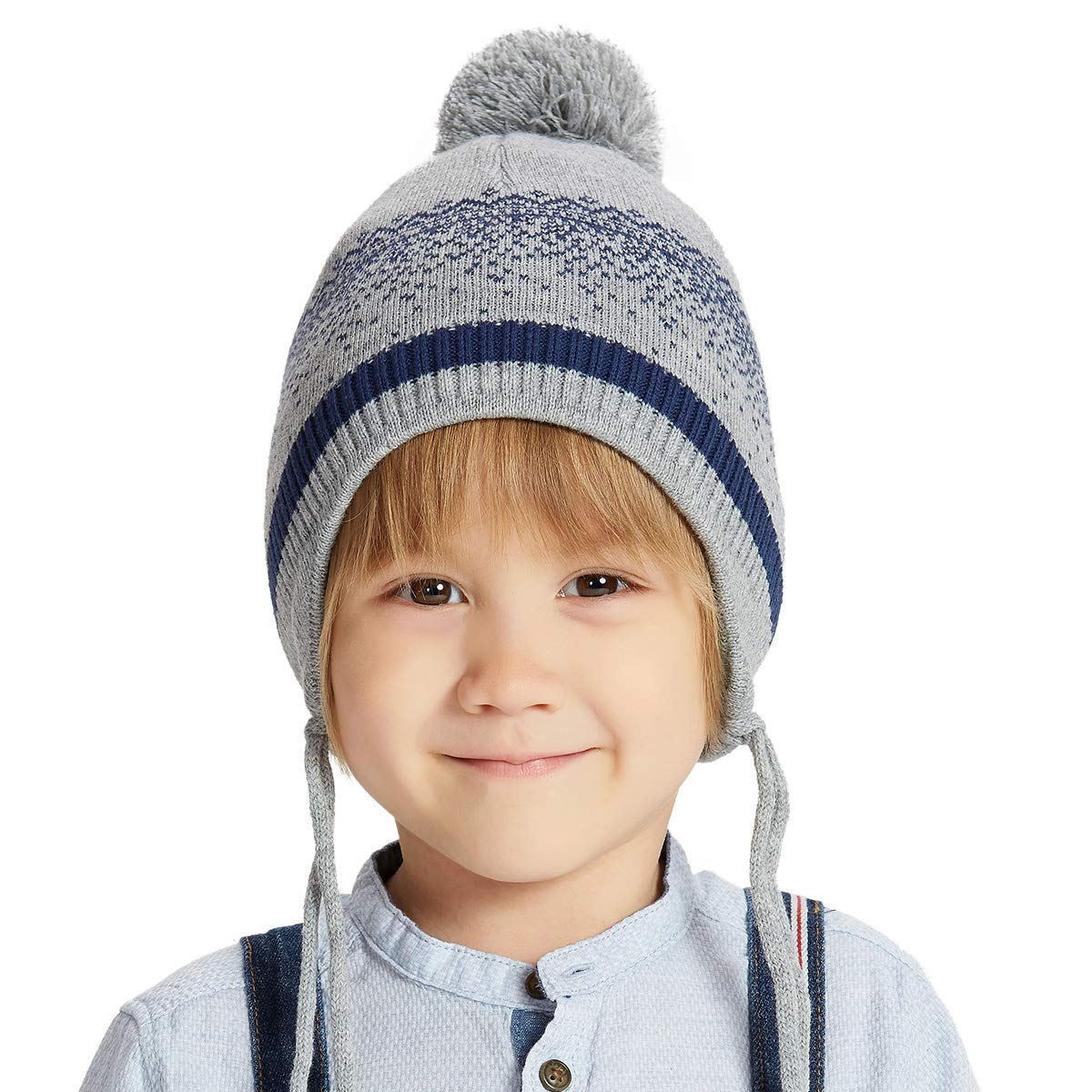 Steady Best Selling Baby Caps Knitted Infant Cap Cartoon Newly Winter Warm Hat Outdoors Lovely Children Toddler Hats Baby Clothing A Accessories