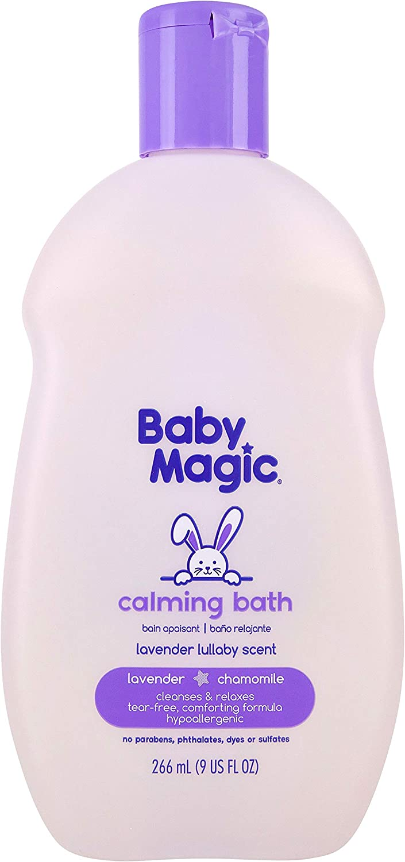 Baby Magic Calming Bath, Lavender & Chamomile, 9 Ounce