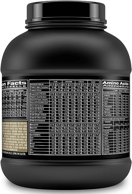 BBGENICS Deutschland - Weight Gainer Classic, Mezcla de carbohidratos y proteínas, 750g vanille