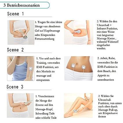 Ultrasonico Massaggiatore del Corpo di Cavitazione Macchina Dimagrante di  Rimozione del Grasso Con la spina dell UE  Amazon.it  Bellezza b2323a60063c
