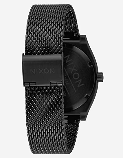 Amazon.com: Nixon Womens Time Teller Milanese All Black One Size: Watches