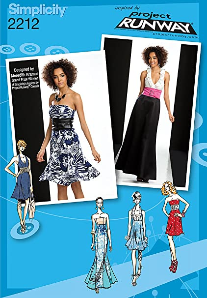 Amazon Simplicity Sewing Pattern 2212 Misses Dresses Inspired