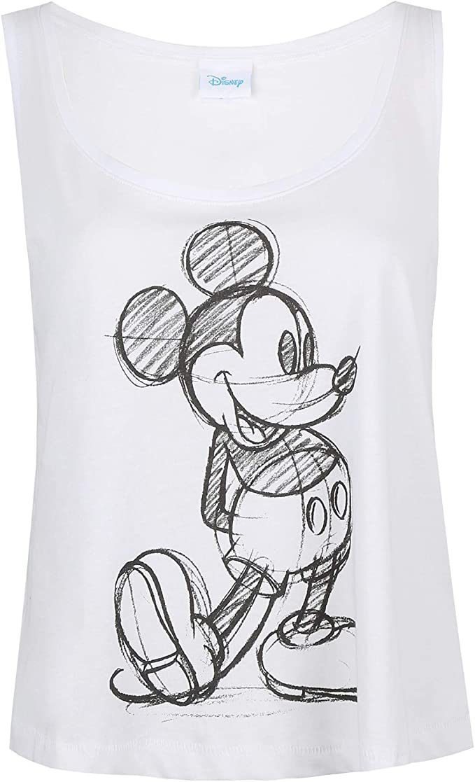 Disney Mickey Sketch Top Donna