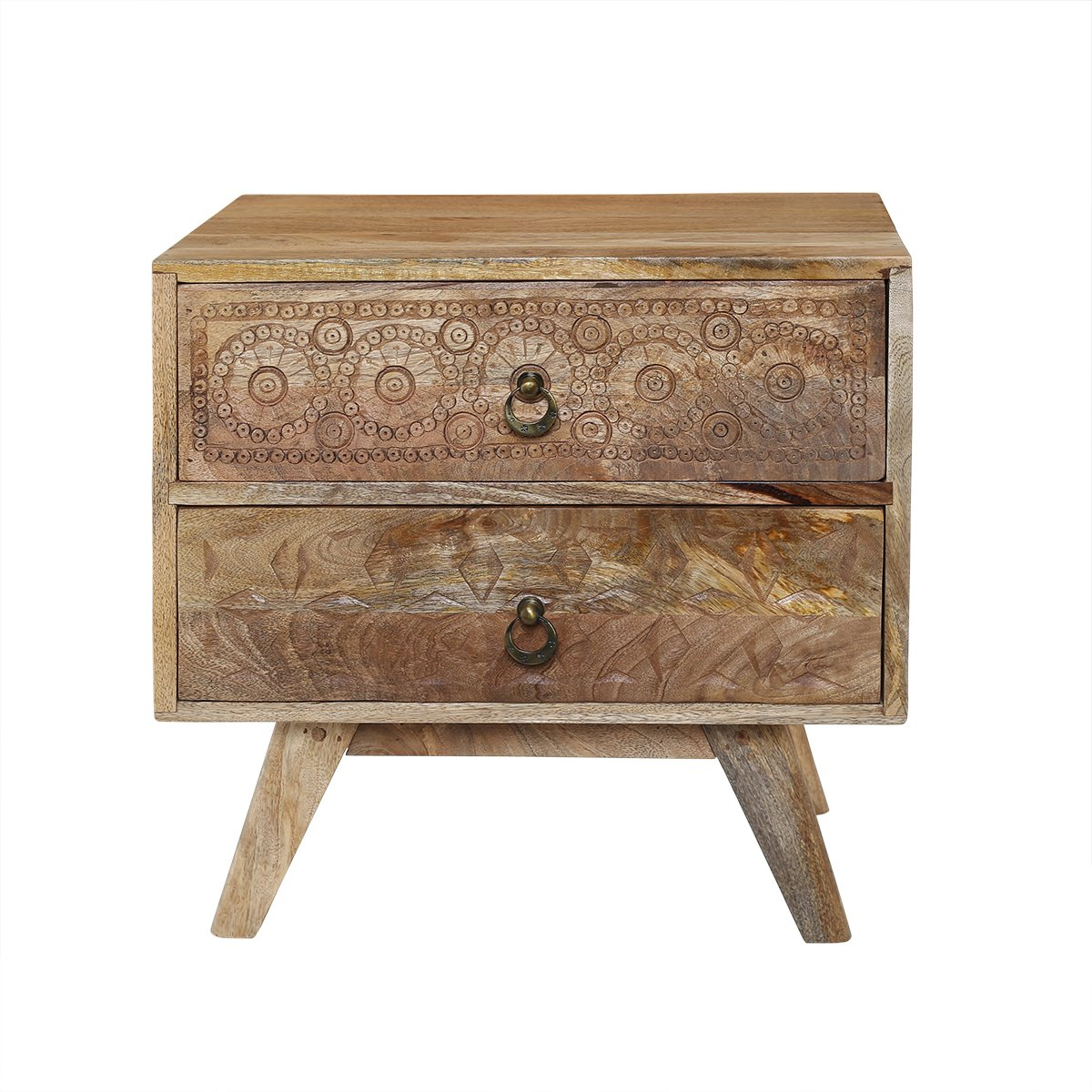storeindya Wooden Keepsake Box/Keepsake Box with Drawers/Chest of Drawers with Cabinet/Keepsake Box for Girls/Storage Decorative Boxes/Mini Wood Cabinet/Small Wood Cabinet (Rough Wood Collection)