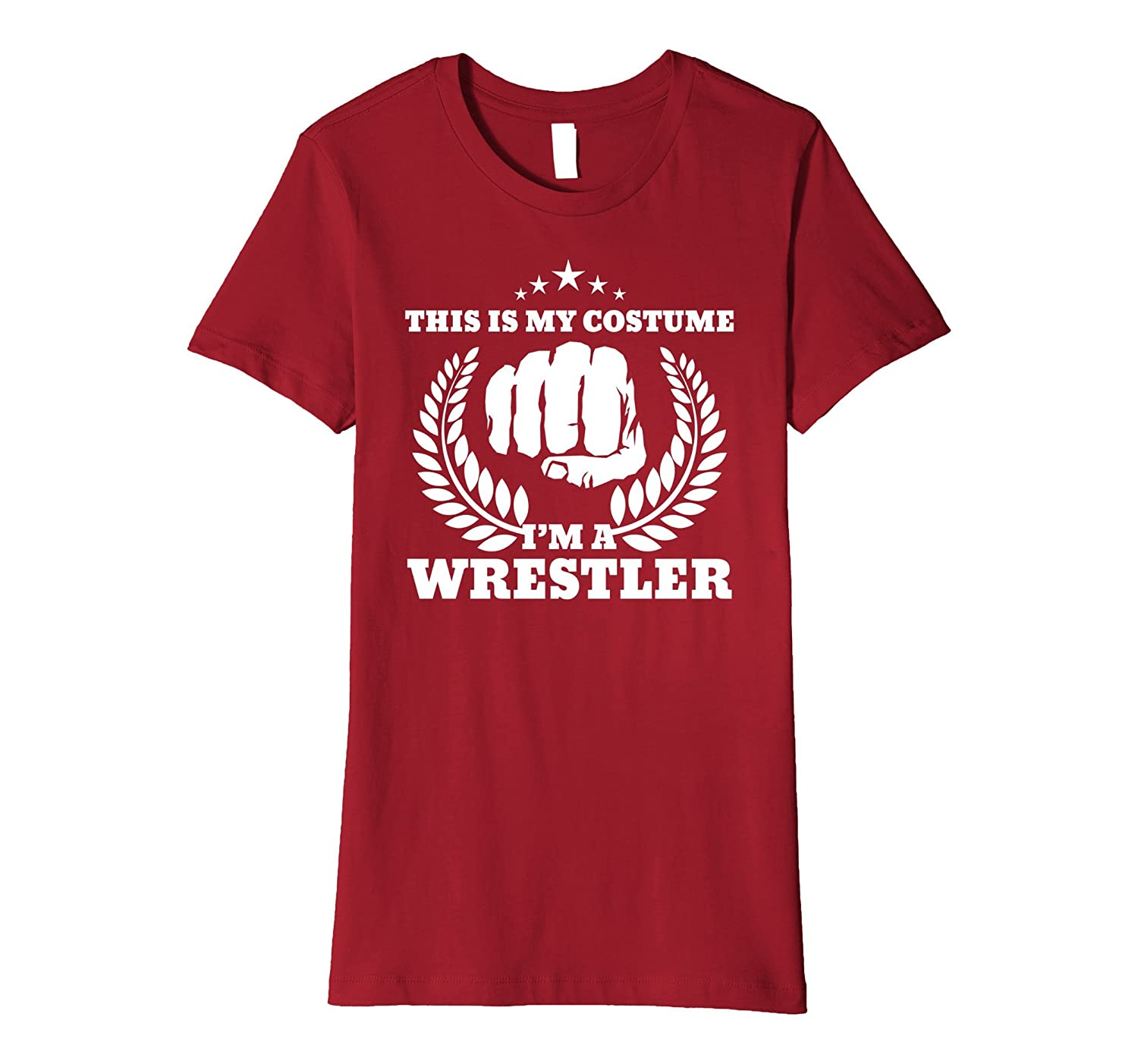 This Is My Costume I'm A Wrestler T-shirt - Men Women Youth