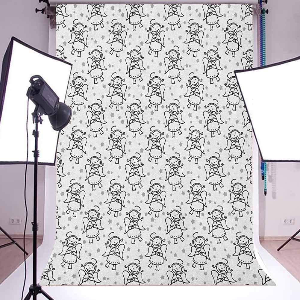 7x10 FT Pink and White Vinyl Photography Background Backdrops,Bridal Bouquet with Booming Flowers Rose Lavender Violet Corsage Background Newborn Baby Portrait Photo Studio Photobooth Props