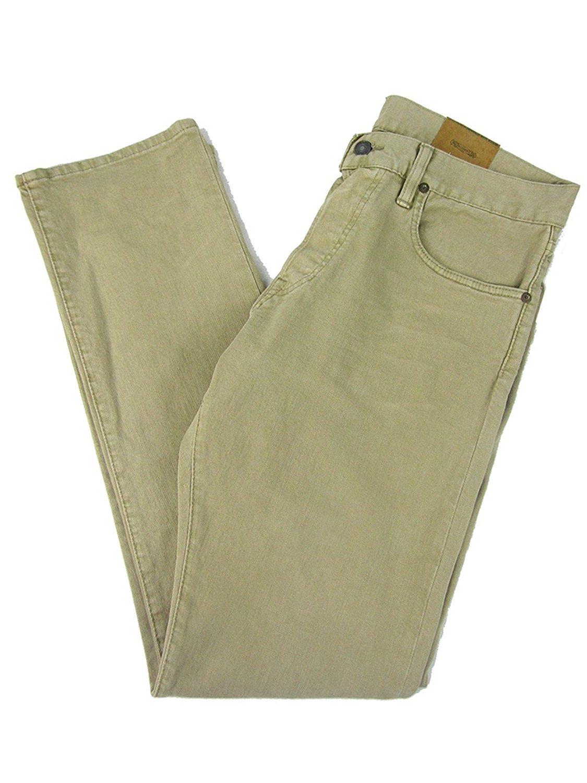 Polo Ralph Lauren Men's Slim-Fit Lightweight Sherman-Wash Jeans (40 x 32, Khaki)