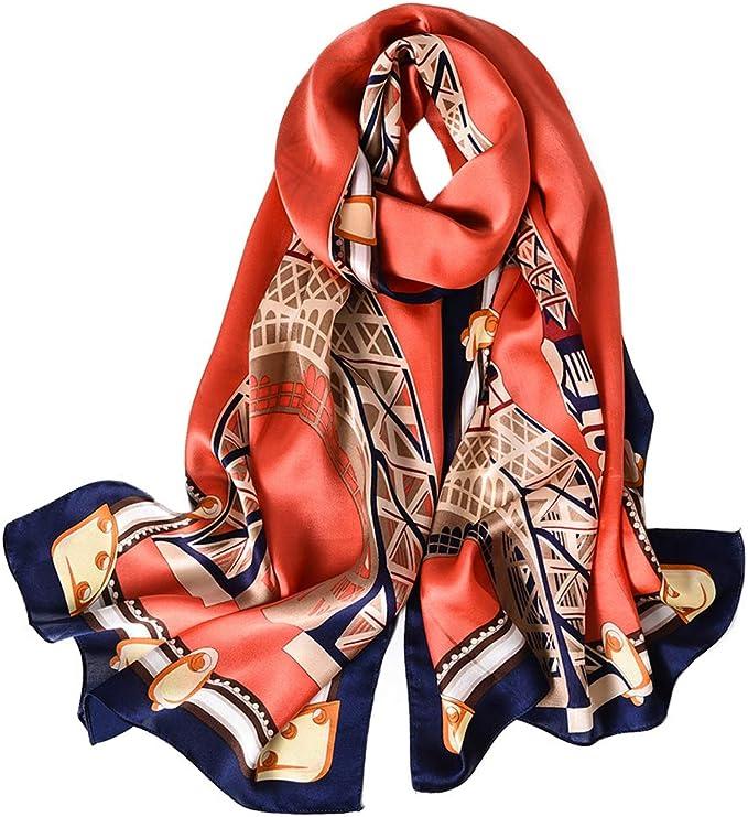 超美的真丝围巾,让你成为一个魅力无限的女人!100% 桑蚕超大丝巾
