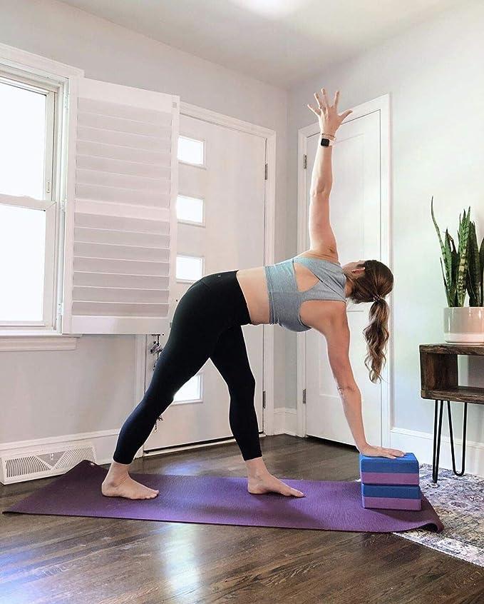 Bloques de yoga: ejercicio de espuma EVA con bloque de ...